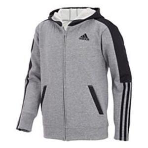 Adidas Boys Zipper Hoodie Sweater Size XL 18/20